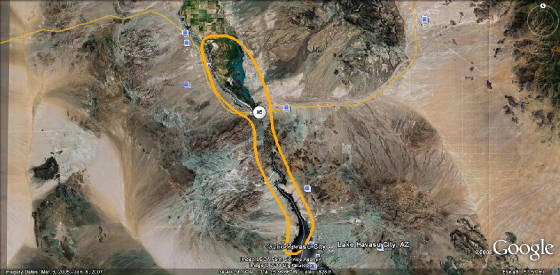 Lake havasu city to yuma az